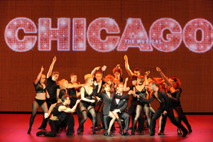 The cast of Chicago perform at The Helpmann Awards
