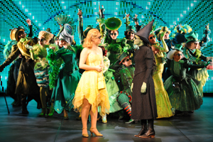 The cast of Wicked perform at the Awards