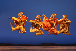 """Lionesses Dance"" in THE LION KING Las Vegas.  ©2009, Disney.  Photo Joan Marcus."