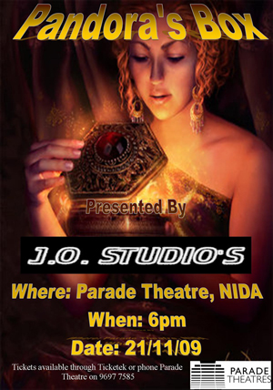 j o studios proudly present pandora s box dance informa magazine in greek mythology pandora s box is the large jar carried by pandora this equivalent for the modern day can of worms comes from the legend in which pandora