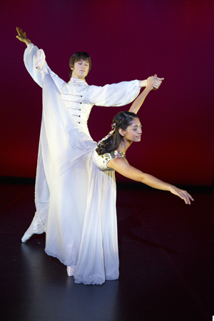 WAAPA students in the dance production 'SPIN' 2009. Jon Green Photographer'