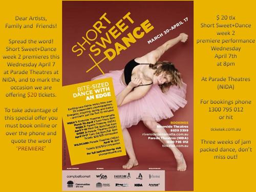 Short Sweet + Dance