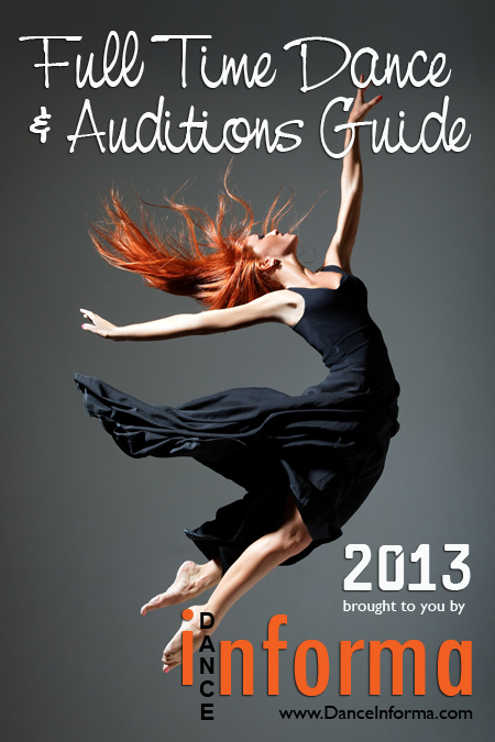 Full Time Dance & Auditions Guide