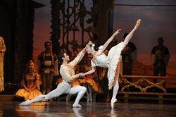 The Australian Ballet's Leanne Stojmenov and Yosvani Ramos