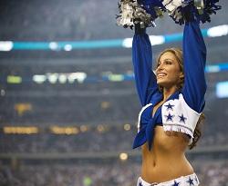 Australian Dancer Dallas Cowboy Cheerleader Angela Nicotera