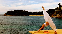dancer and yoga instructor Gina Brescianini