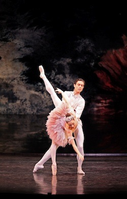 The Nutcracker- Gaylene Cummerfield and Matthew Lawrence.