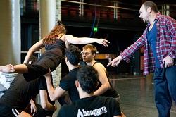 Blak rehearsals, Bangarra Dance Theatre