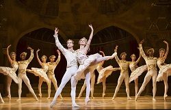 The Royal Ballet's Nehemiah Kish and Zenaida Yanowsky