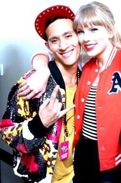 Taylor Swift with Antony Ginandjar