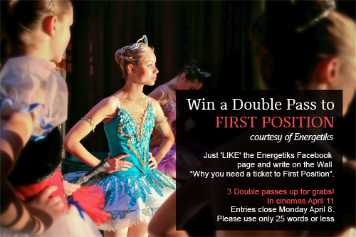 Win tickets to First Position dance documentary
