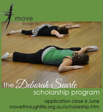 Move Through Life dance scholarship for adults