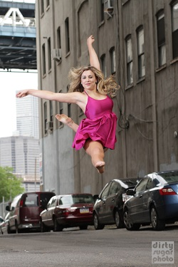 Melbourne contemporary dancer Freya List
