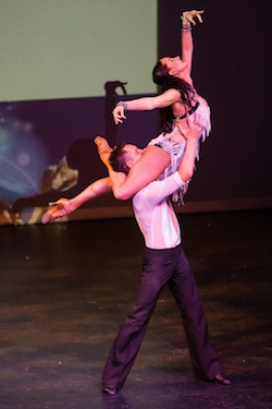 Melbourne Latin Festival 2013 - Performance by Mitch and Ellicia.