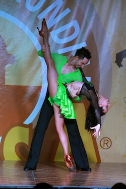 World Salsa Open 2012 - Mitch Bilic and Ellicia McDonald