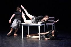 Erynne Mulholland, Rain & Lucky Dance Theatre.