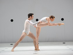 Brett Chynoweth and Lana Jones of The Australian Ballet in Dyad 1929