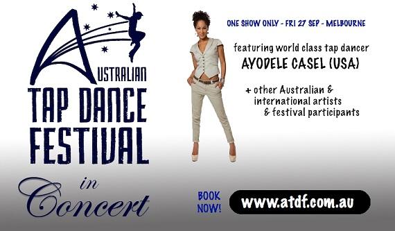 Australian Tap Dance Festival in Concert