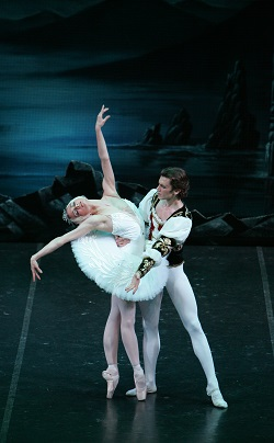 St Petersburg Ballet. Irina Kolesnikova and Dmitri Akulinin