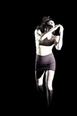 Deaf dance artist Anna Seymour