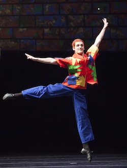 Australian dancer Benjamin Stone