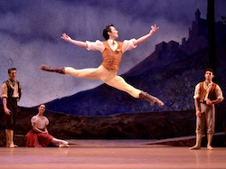Qi Huan of the Royal New Zealand Ballet