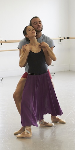 West Australian Ballet rehearsal