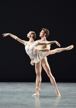 Polina Semionova and James Whiteside