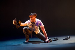Jack Zeising in EDC's SOLO Festival of Dance.