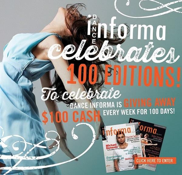 Dance Informa celebrates 100 magazine editions