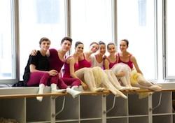 Training ballet dancers