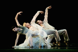 San Francisco Ballet in Wheeldon's Ghosts, photography by Erik Tomasson