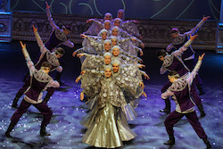 """The Russian National Dance Company in """"Kostroma""""."""