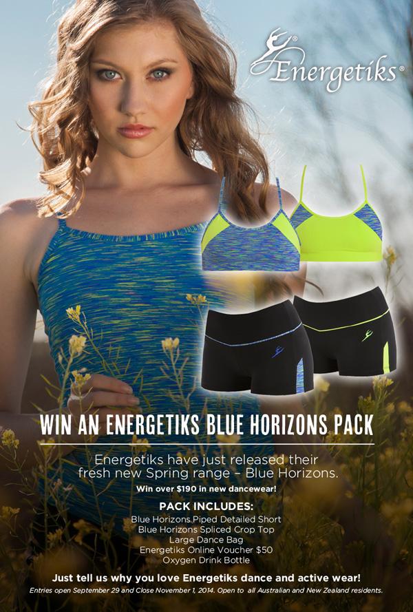 Energetiks Blue Horizons giveaway