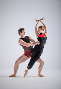 NZSD Graduation Season-Samantha Vottari and Tynan Wood. Photo by: Stephen A'Court.