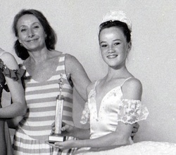 Mrs. P with Lucinda Dunn