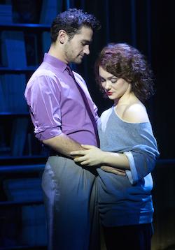Karli Dinardo and Adam Rennie in Flashdance – The Musical.  Photo by Chad Bremerman.