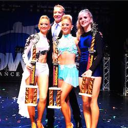 Showcase National Competition ProAm dancer finalists