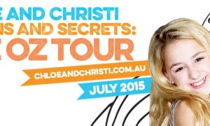 Christi and Chloe Lukasiak Sequins and Secrets Aus Tour