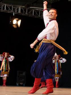 Daniel Tkaczuk Ukranian Dance solo