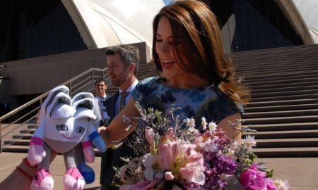 Sid Neey Sydney Opera House Kids and Princess Mary