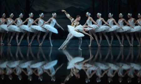 The St. Petersburg Ballet Theatre performing 'Swan Lake'.