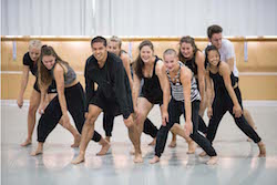 New Zealand School of Dance students