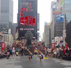 Rybka Twins Times Square