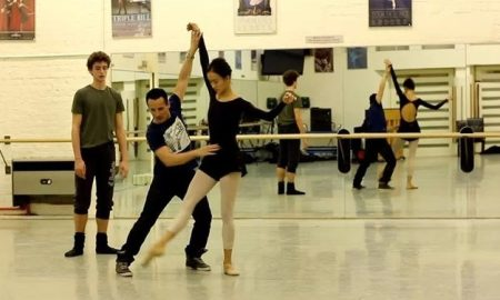Tim Podesta working with English National Ballet