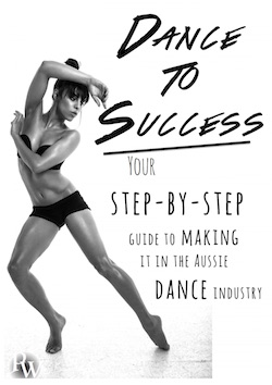 The 'Dance to Success' book cover.