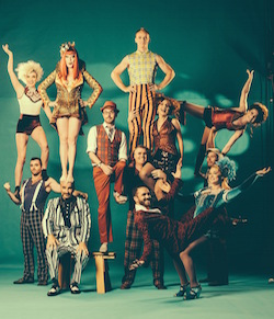 The Circus Oz Ensemble from 'But Wait ... There's More'