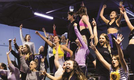 Full time dancers from Left Leg Studios, Melbourne