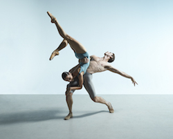 Rudy Hawkes and Dimity Azoury from The Australian Ballet.
