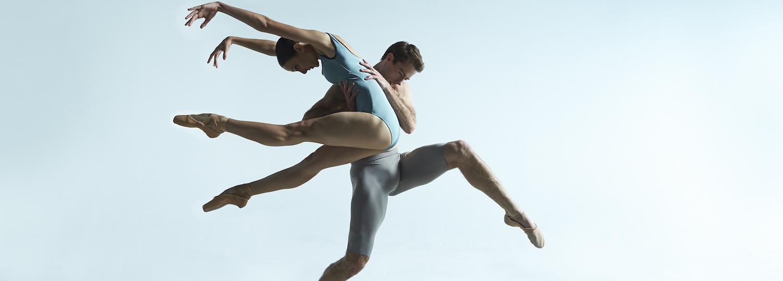 Australian Ballet's Rudy Hawkes and Dimity Azoury.